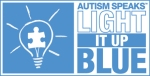 Autism Speaks, Light It Up Blue branding logo