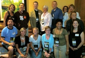 Some ASCA conference attendees ©  D. Schultz