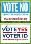MN Voter ID lawn signs