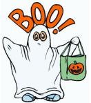 Trick or Treat Ghost free clipart