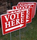 vote-here-signs