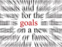 Goals, public domain graphic