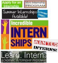 internship ad collage