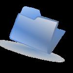 160px-Folder-blue.svg wikimedia commons