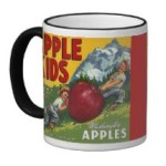 Apple coffee mug 1