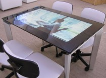 Flat Screen Touch Screen monitor table