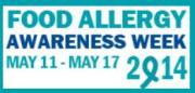 Food Allergy Awareness Week logo from FARE