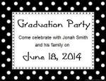 Grad Party Invitation