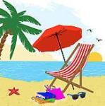 free clip art beach scene