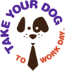 take your dog to work logo
