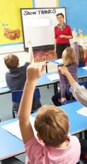 view-2-c-monkeybusinessimages-dreamstime_com_early-elementary-classroom-hands-raised-female-teacher
