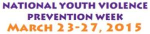 SAVE Natl youth violence prevention week