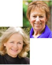 Gill Connell, right, and Cheryl McCarthy, left.