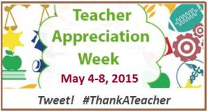 Teacher Appreciation week courtesy PTA