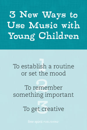 Use Music with Young Children Infographic