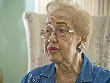 Katherine Johnson's work at NASA's Langley Research Center spanned 1953 to 1986 and included calculating the trajectory of the early space launches. Photo Credit: NASA/Sean Smith.
