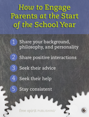 How to Engage Parents at the Start of the School Year