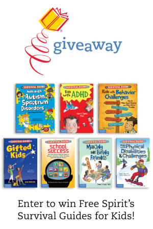 Enter to win Free Spirit's Survival Guides for Kids!