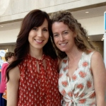 Author Erin Frankel and Illustrator Paula Heaphy