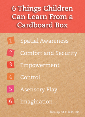 6 Things Children Can Learn from a Cardboard Box