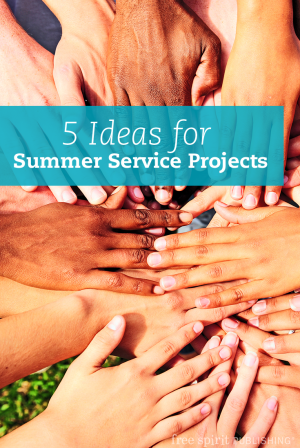 5 Ideas for Summer Service Projects