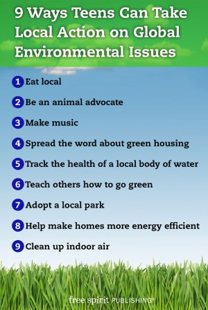 9 ways to help teens take local action on global environmental 9 ways to help teens take local action on global environmental issues list sciox Gallery