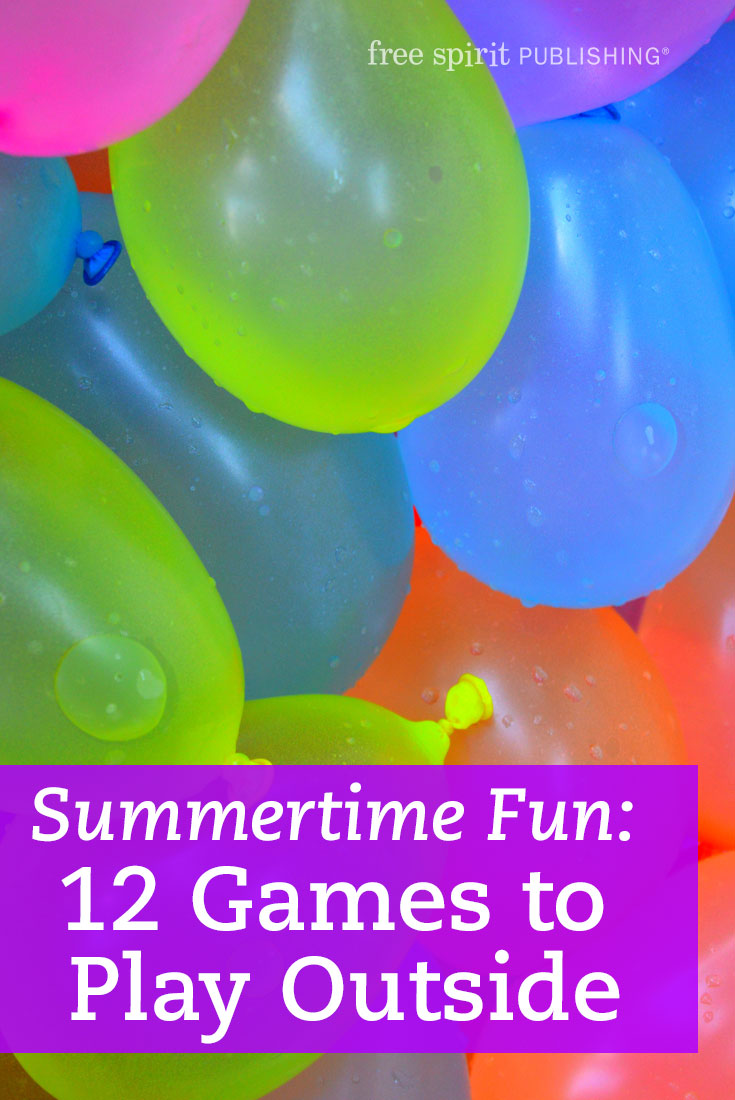Summertime Fun: 12 Games to Play Outside