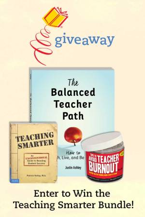 Enter to Win the Teaching Smarter Bundle