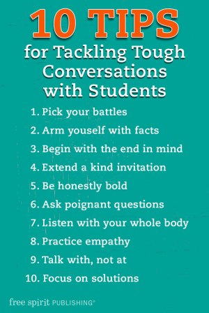 10 Tips for Tackling Tough Conversations