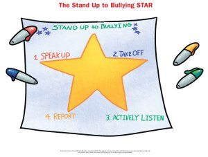 Stand-Up-to-Bullying STAR worksheet