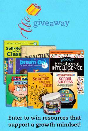 Growth Mindset Giveaway